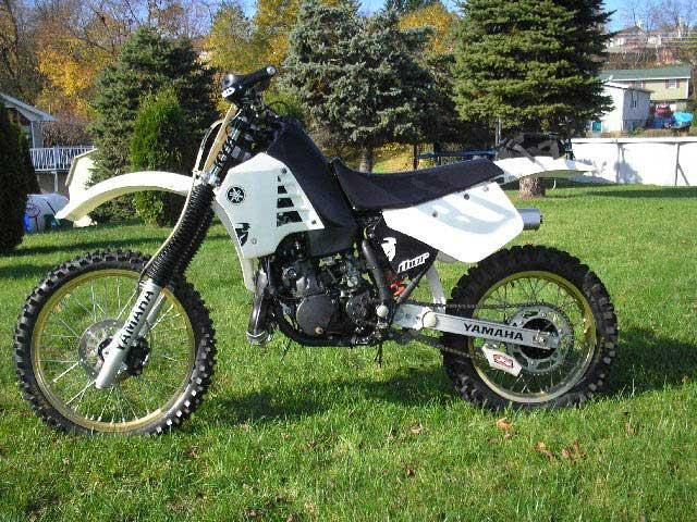 1986 YZ250 dirt bike