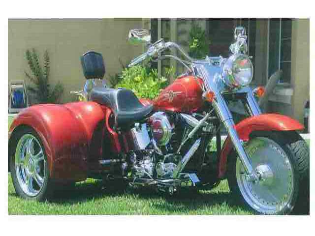 1998 Fatboy trike