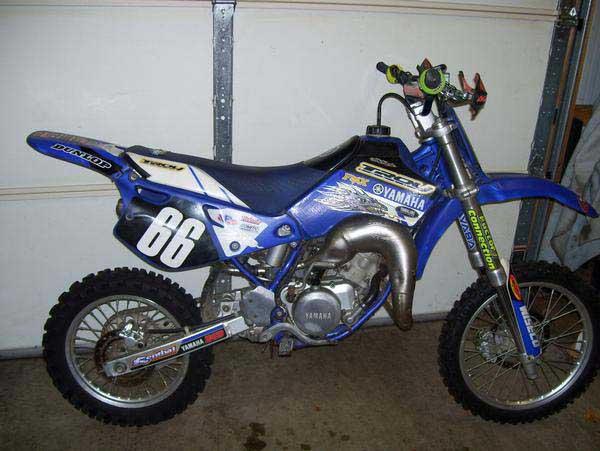 2000 YZ 80 race bike