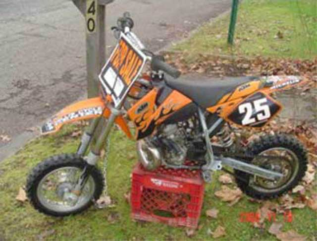 2001 KTM 50cc
