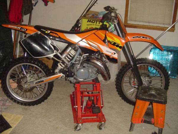 2001 KTM SX125