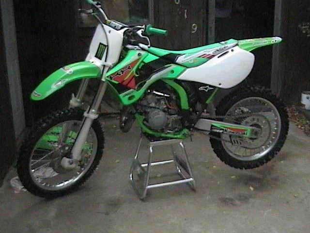 2001 KX125