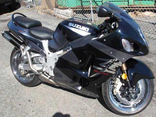 2003 Suzuki Hayabusa bike
