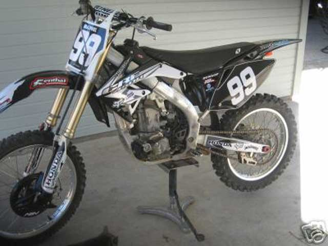 2005 CRF450