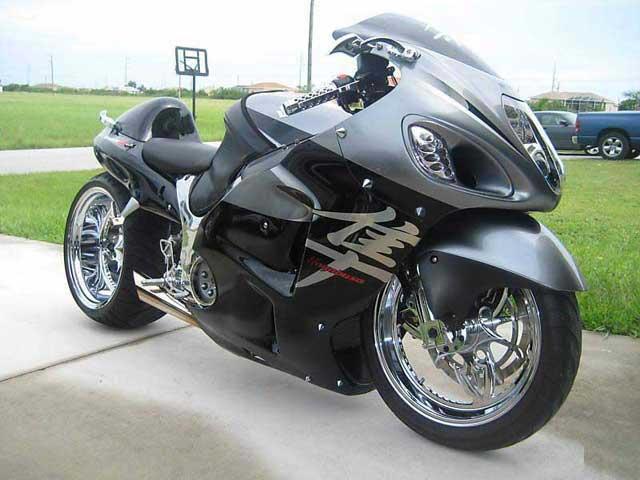 2005 Hayabusa bike