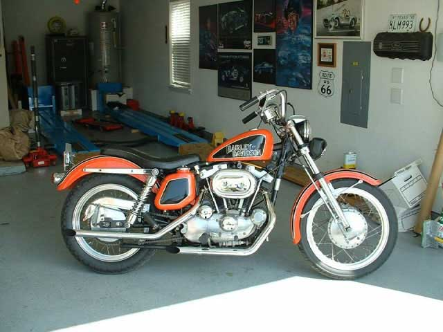 72 Sportster bike
