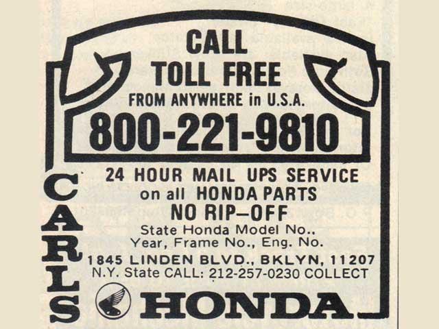 Brooklyn Honda Parts