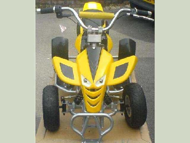 2 stroke 50cc quad
