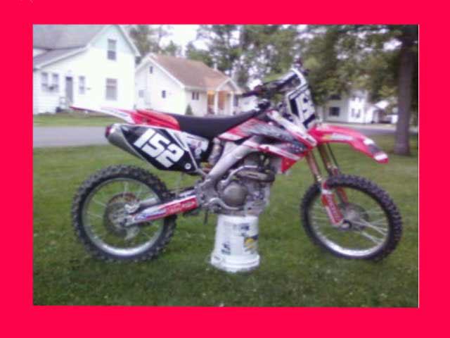 2005 CRF 250