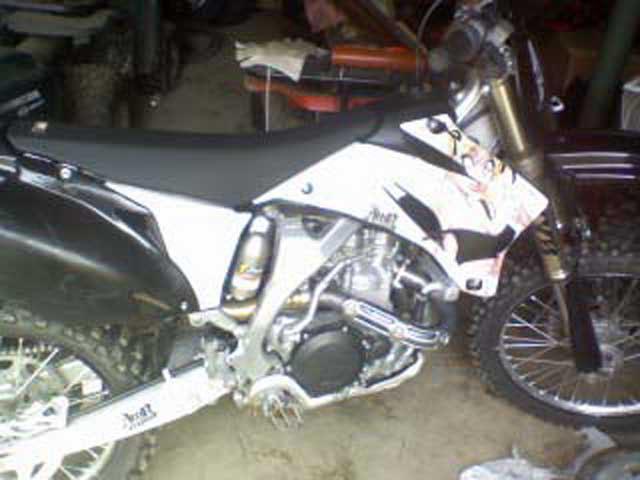 2008 Yamaha YZ450