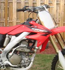 Honda CR500 repair