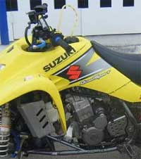 Suzuki Quadrunner repair